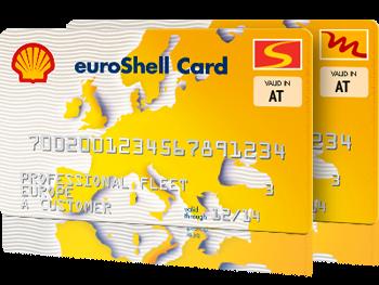 Bild der euroShell Card
