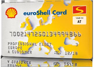 euroShell Card Single National