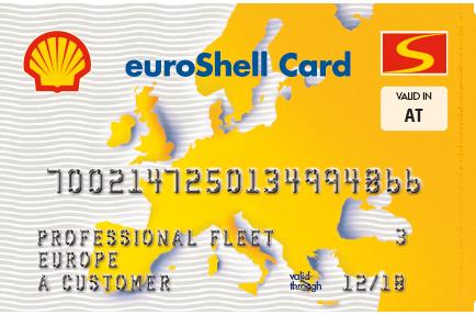 Nutzen Sie ein flächendeckendes Netz von Shell-Tankstellen mit der euroShell Single Card in Europa!